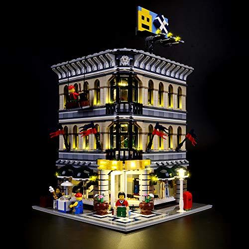 LIGHTAILING Licht-Set Für (Grand Emporium) Modell - LED Licht-Set Kompatibel Mit Lego 10211(Modell Nicht Enthalten)