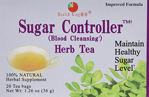Health King Sugar Controller Tea 20ct, 3 Pack