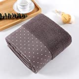 <span class='highlight'><span class='highlight'>HUSHUN</span></span> 4 Units 100% Cotton Hand Towels Bath Towels Set - Multipurpose Use Towels with High Absorbency,Sport Towels for Beach, Bath, Hand, Face-coffee_35x75cm
