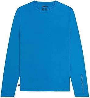 Mens SunShield Permanent Wicking UPF30 Long Sleeve T-Shirt Brilliant Blue - Lightweight