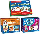 Product 1: Observation Product 1: Concentration Product 1: New Vocabulary Product 2: Visual Discrimination Product 2: Early Learning Concepts Product 2: Improve ability to Ask and Answer Questions Product 3: Observation Product 3: Visual Discriminati...