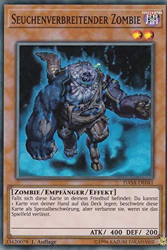 Konami TCG - DASA-DE041 - Seuchenverbreitender Zombie - Super Rare - Yu-Gi-Oh! - Deutsch - mit GECO® Versandschutz