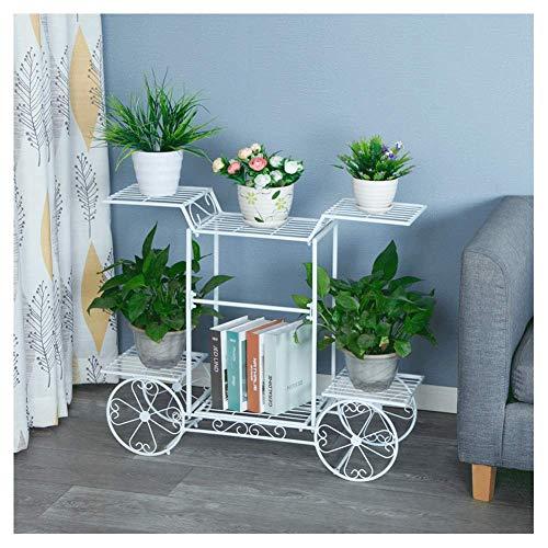 Soportes de plantas para plantas de interior, soporte de plantas de metal, soporte de maceta de arte de hierro, soporte de maceta a prueba de herrumbre, soporte de plantas decorativo para