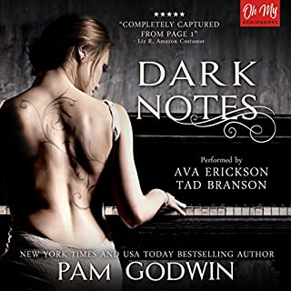Dark Notes                   By:                                                                                                                                 Pam Godwin                               Narrated by:                                                                                                                                 Ava Erickson,                                                                                        Tad Branson                      Length: 13 hrs and 39 mins     486 ratings     Overall 4.6