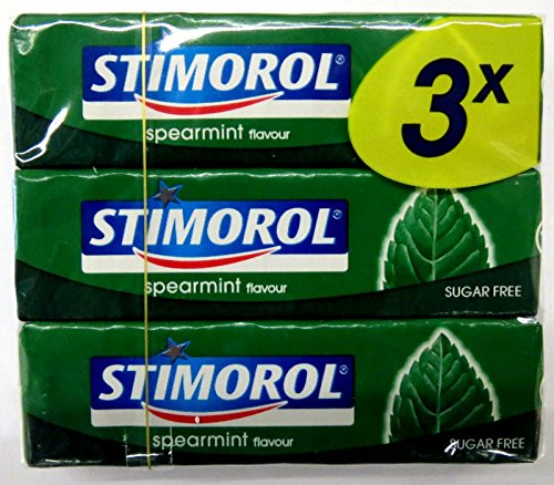 10 x STIMOROL SPEARMINT ZUCKERFREI 3ER PACK Incl. Goodie von Flensburger Handel