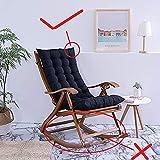HOMEJYMADE Plegable reclinable Mecedora Cojín de la