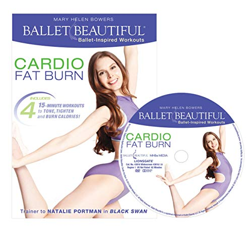 Ballet Beautiful Ballet Workout DVD - Cardio Fat Burn. Mary Helen Bowers Barre Dance Inspired Fitness DVD