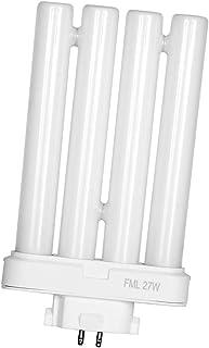 ARSUK Bombilla fluorescente de recambio 27w, para High Vision lámparas de lectura, 4 pines Gx10Q-4 Quad tubo (6500 K)