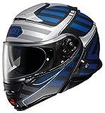 Shoei Neotec 2 Splicer TC2 Azul Casco De Motocicleta Talla M