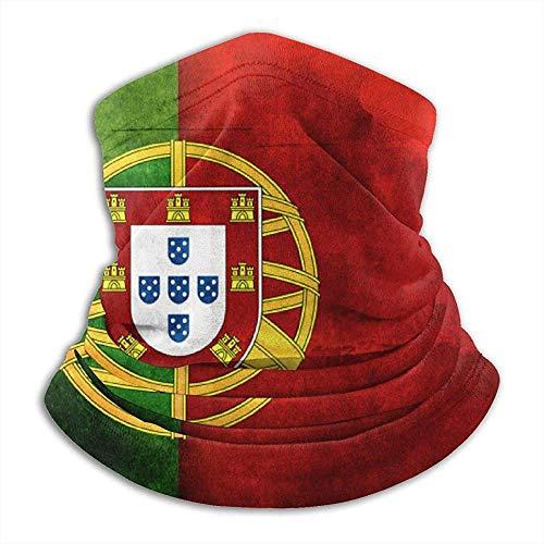 Portugal Drapeau Motif Cache-Cou Guêtre Balaclava Masque De Ski Froid Masque Visage Masque D'hiver Chapeaux Chapeaux-736-QQ