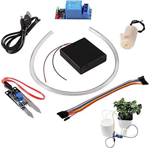 ARCELI Bodenfeuchtesensor-Kit Manager des automatischen Bewässerungssystems mit Mini-Wasserpumpe für das Arduino DIY-Kit (automatisches Bewässerungssystem)