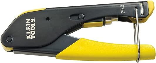 Klein Tools VDV212-008-SEN Compact Compression Crimper, F-Connector