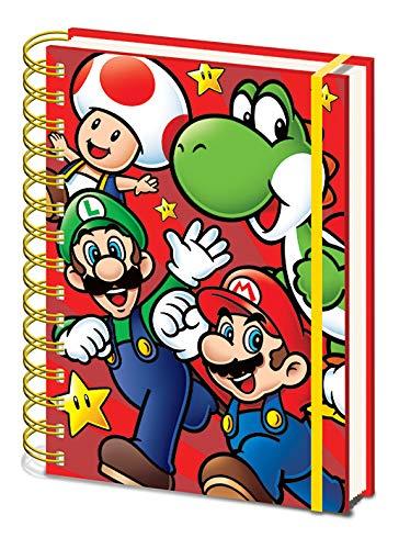 Funko Pop! - Super Mario, Cuaderno A5 Espiral Run (Windows)