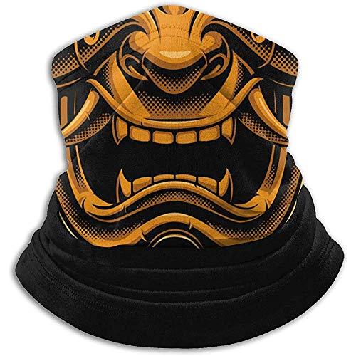 Giles John Nackenschutz Staubmaske Samurai Warrior Maske Farbe Version Wind Uv Sonnenmaske Kopfbedeckung Party Motorrad Fahren