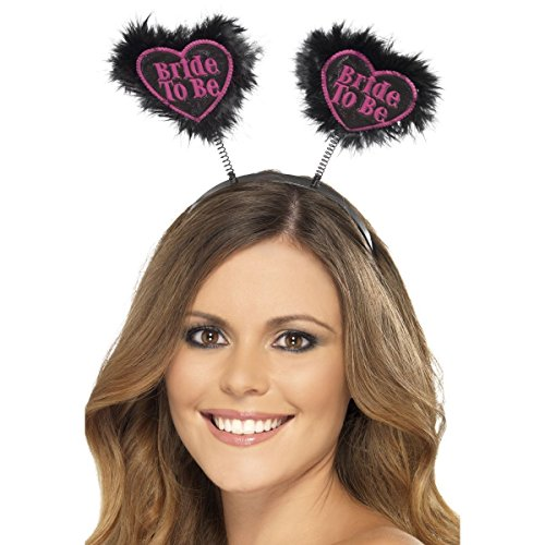 Smiffy's - 350980 - Bride to Be Love Heart Boppers