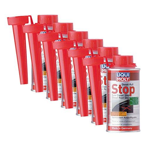 6 x Additif Liqui Moly 5180 Diesel de suie Stop DPF ajout de carburant 150 ml