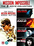 Mission Impossible 1-5 [DVD] by Tom Cruise