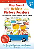 Play Smart Vehicle Picture Puzzlers Age 3+: At-home Activity Workbook (Volume 13) airplane toys Oct, 2020
