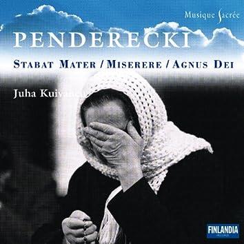 Penderecki Stabat Mater - Compl Sacred Works for Ch - Musique Sacrée series