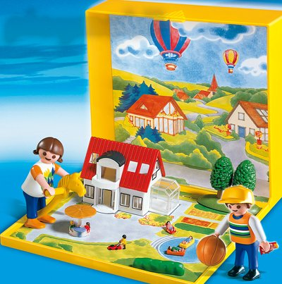 PLAYMOBIL® 4335 - MicroWelt Einfamilienhaus