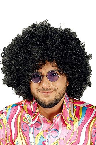Jimmy perruque afro à lunettes