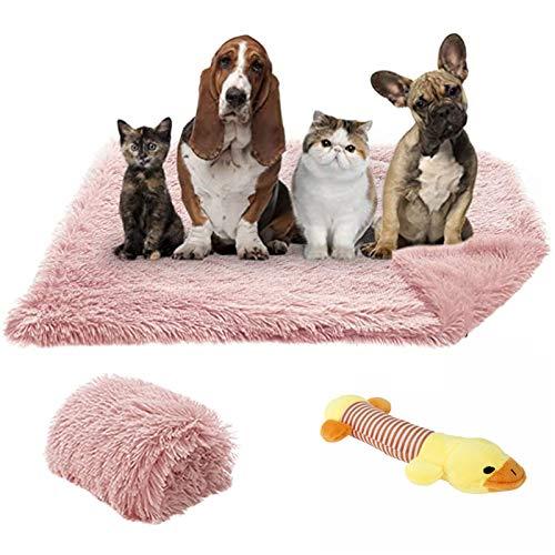 TVMALL Coperta per Cani e Gatti Super Morbida Lettini per Cani Auto-riscaldante Materasso per Divano per Animali Domestici Lavabile, può Essere utilizzata per Letto, divani e Auto (Rosa, M)