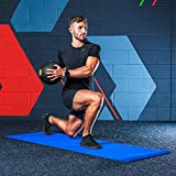 METIS Balón Medicinal– 1kg - 10kg | Pelota Lastrada para Ejercicio en Casa o en el Gimnasio - Slam Balls – Alto Agarre | Material Fitness, Yoga y Pilates (1KG)