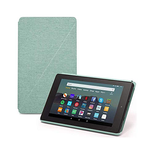 Fire 7 Tablet (7' display, 32 GB) - Sage + Amazon Standing Case (Sage)