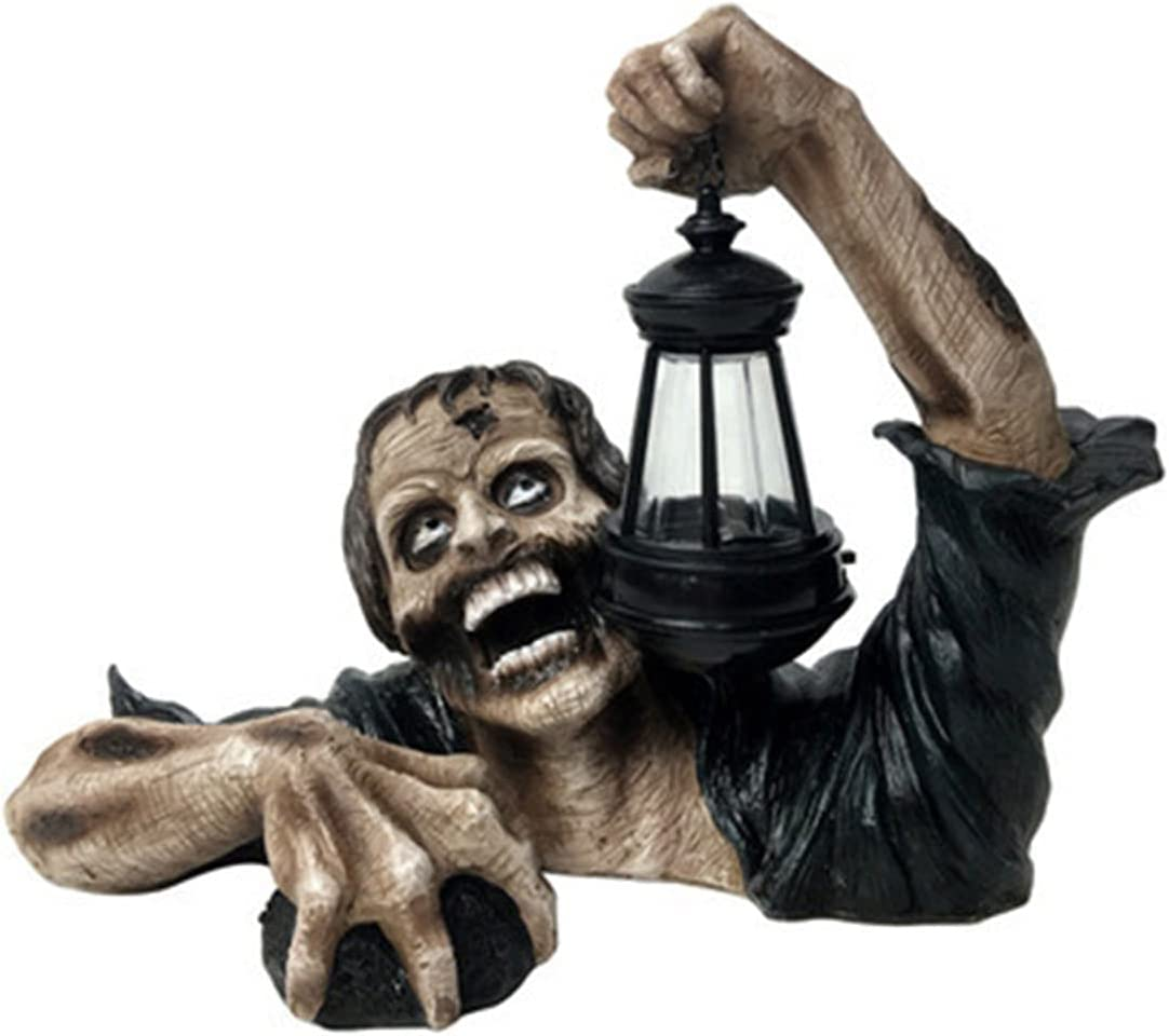 YSSWJD Horror Award-winning store Garden Zombie 5 ☆ popular Lantern Ga Outdoor Realistic