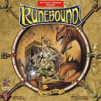 Heidelberger Spieleverlag HEI0VA05 - Runebound Zweite Edition, deutsche Ausgabe