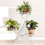 Schmiedeeiserne Mehrzweck-Blumenständer geeignet für Wohnzimmer im freien