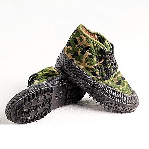 Zapatillas Deportivas para Hombre Botines Sneaker Calzado Deportivo,Green-38 EU