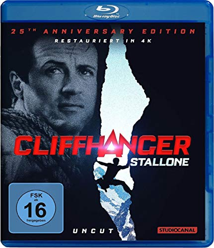 Cliffhanger / 25th Anniversary Edition / Uncut / [Blu-ray]