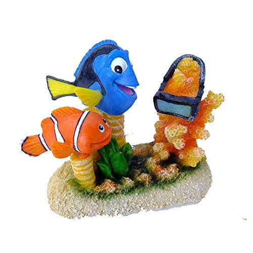 Europet Bernina 234-426999 Aquariumdekoration Aqua Della Clownfisch, 6.5 x 4 x 4.5 cm