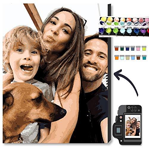 Kits personalizados para pintar por números para adultos, kits profesionales de pintura de mascotas y retratos, regalos de...