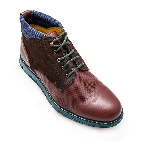 Zerimar lederen laarzen Man | Leren enkellaarzen Man | Klassieke Booties Man | Winter Man Laarzen | Casual lederen heren enkellaars gemaakt in Spanje