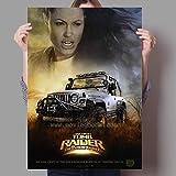 LGYJAL Klassischer Action-Abenteuer-Film Lara Croft Familie