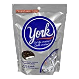 york dark chocolate peppemint patties, miniatures, 200 gram