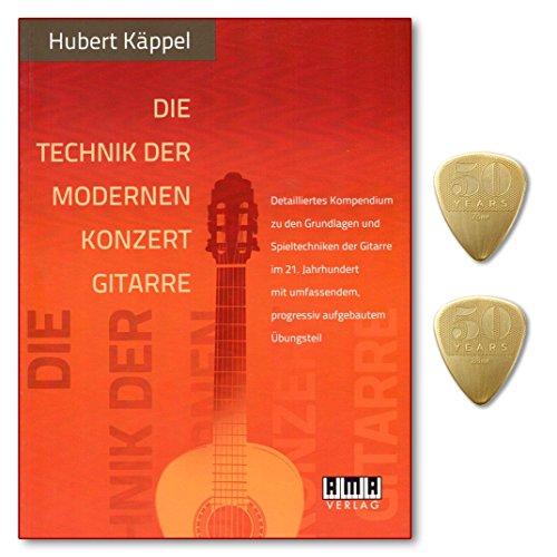 Die Technik der modernen Konzertgitarre - Detailliertes Kompendium zu den Grundlagen und Spieltechniken der Gitarre im 21. Jahrhundert mit umfassendem, progressiv aufbauendem Übungsteil mit 2 PLEKs