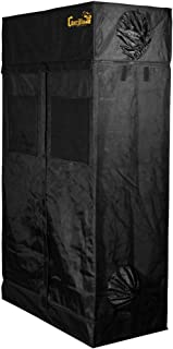 Gorilla Grow Tent GGG24 GGT24 Grow Tent, 2 by 4 by 6-Feet/11-Inch, Black