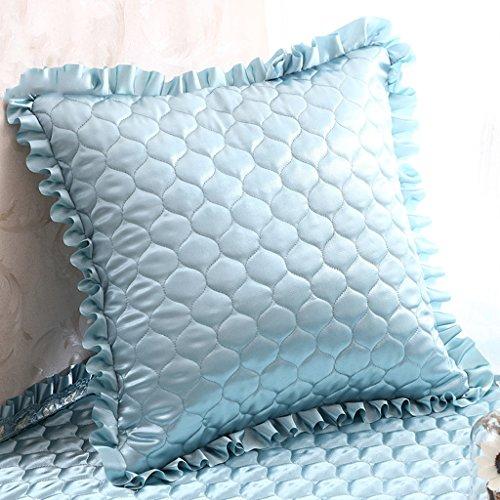 Uus Coussin de canapé Bleu Convient pour Chambre à Coucher/Salon/Bureau/Voiture Mordern Style Chaleureux Décoration intérieure (Edition : Cushion, Taille : 55 * 55)