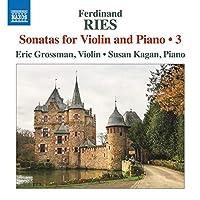 Ries: Sonatas for Violin and Piano 3