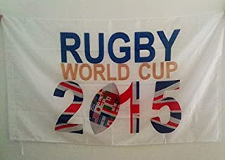 AZ FLAG Rugby World Cup 2015 Flag 3' x 5' for a Pole - Rugby Championship Flags 90 x 150 cm - Banner 3x5 ft with Hole