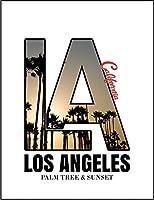 【FOX REPUBLIC】【サンセット ロサンゼルス カリフォルニア】 白マット紙(フレーム無し)A4サイズ