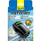 Tetra myFeeder Futterautomat für Zierfische im Aquarium, anthrazit, inklusive Batterien