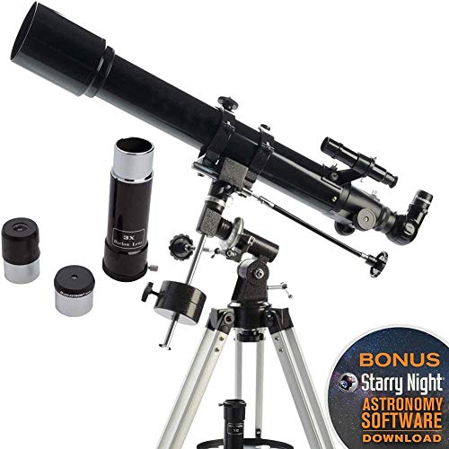 For Sale! Telescope, Travel Scope, 60Mm Astronomical Refractor Telescope with Tripod, Good Partner t...