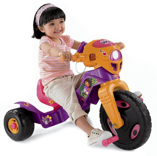 Fisher-Price Dora the Explorer Lights and Sounds Trike by Dora the Explorer