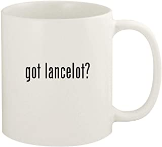 got lancelot? - 11oz Ceramic White Coffee Mug Cup, White
