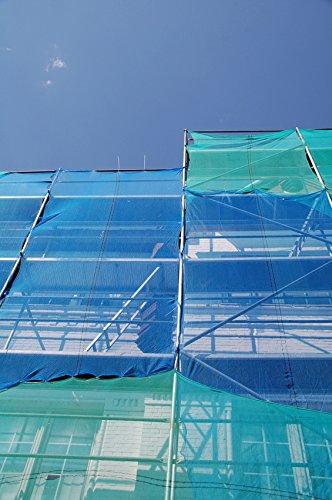 260m2 steiger net in 2,6 m breedte x 100 m lengte beschermingsnet voor steigers
