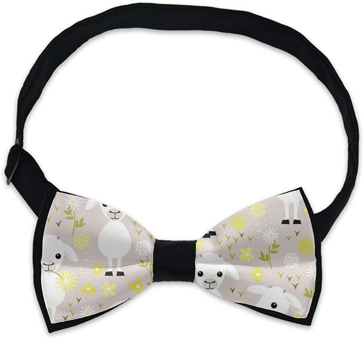 Mens Creative Bow Tie Gift, Adjustable Bowties Necktie, Casual and Formal